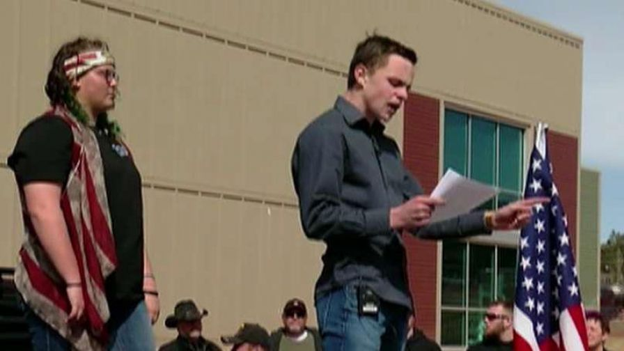 Colorado students, feeling silenced by pro-gun control activists, hold Second Amendment rally