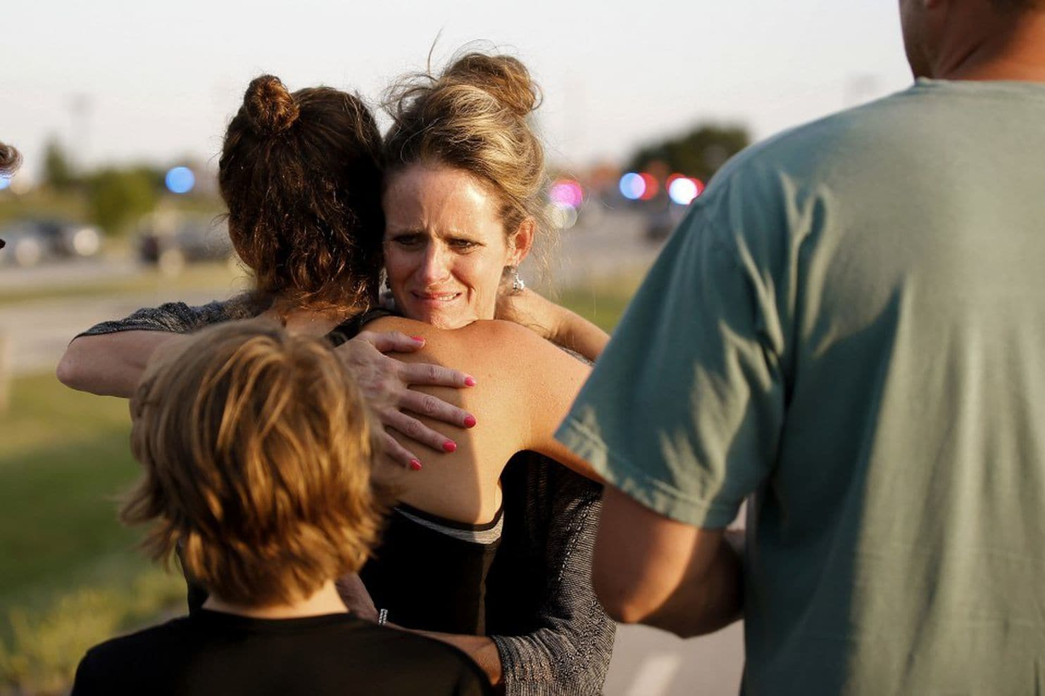 Bystanders killed a gunman who fired into a restaurant. The NRA praised good guys with guns.