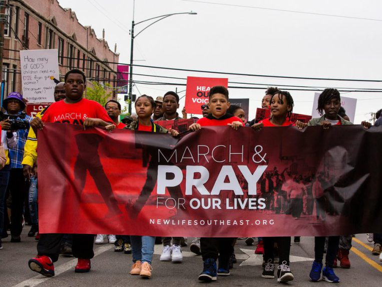 Young people march against gun violence on South Side: 'Allow us to live'