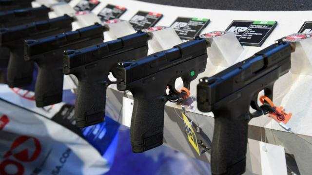 Trump administration releases plan to shift gun export approvals