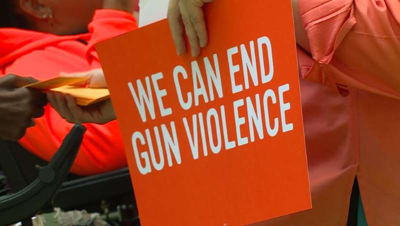 Groups gather at Washington Park to demand changes in gun legislation