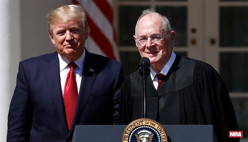 With Kennedy Retirement, Trump Can Strengthen a Pro-Second Amendment Supreme Court