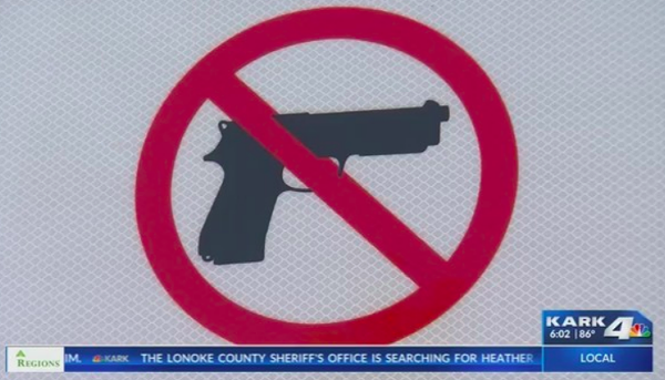 Gun toters object to gun prohibition signs
