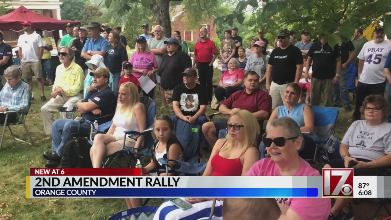 100+ attend Orange County rally for gun rights