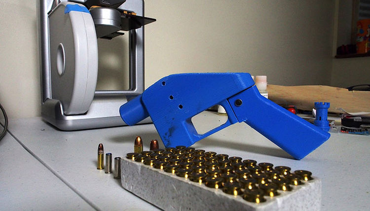 3D Printed Gun Blueprints Can Legally Be Downloaded Starting Next Month