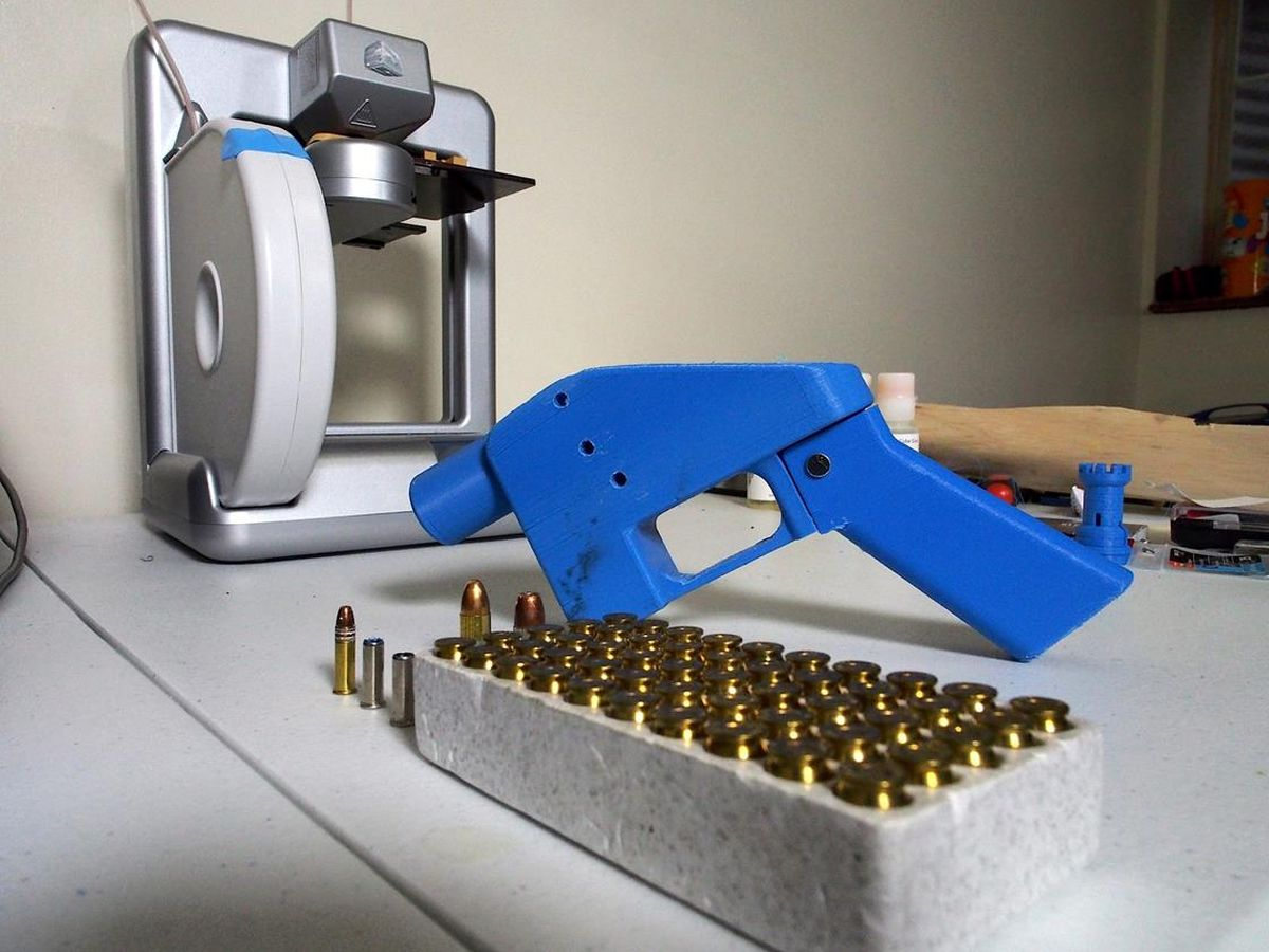 Vox Sentences: We're on a bullet train toward 3D-printed guns