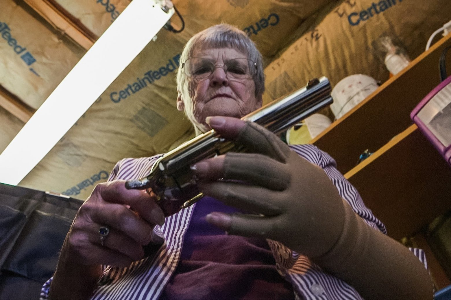 Dementia and guns: In Washington state and elsewhere, weapons remain in homes