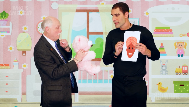 Sasha Baron Cohen takes on US gun lobby in this hilarious first look at new series