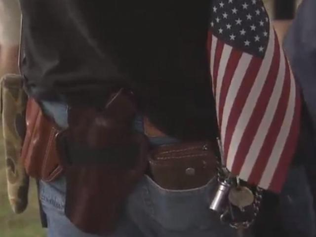 Gun rights supporters rally in Orange County