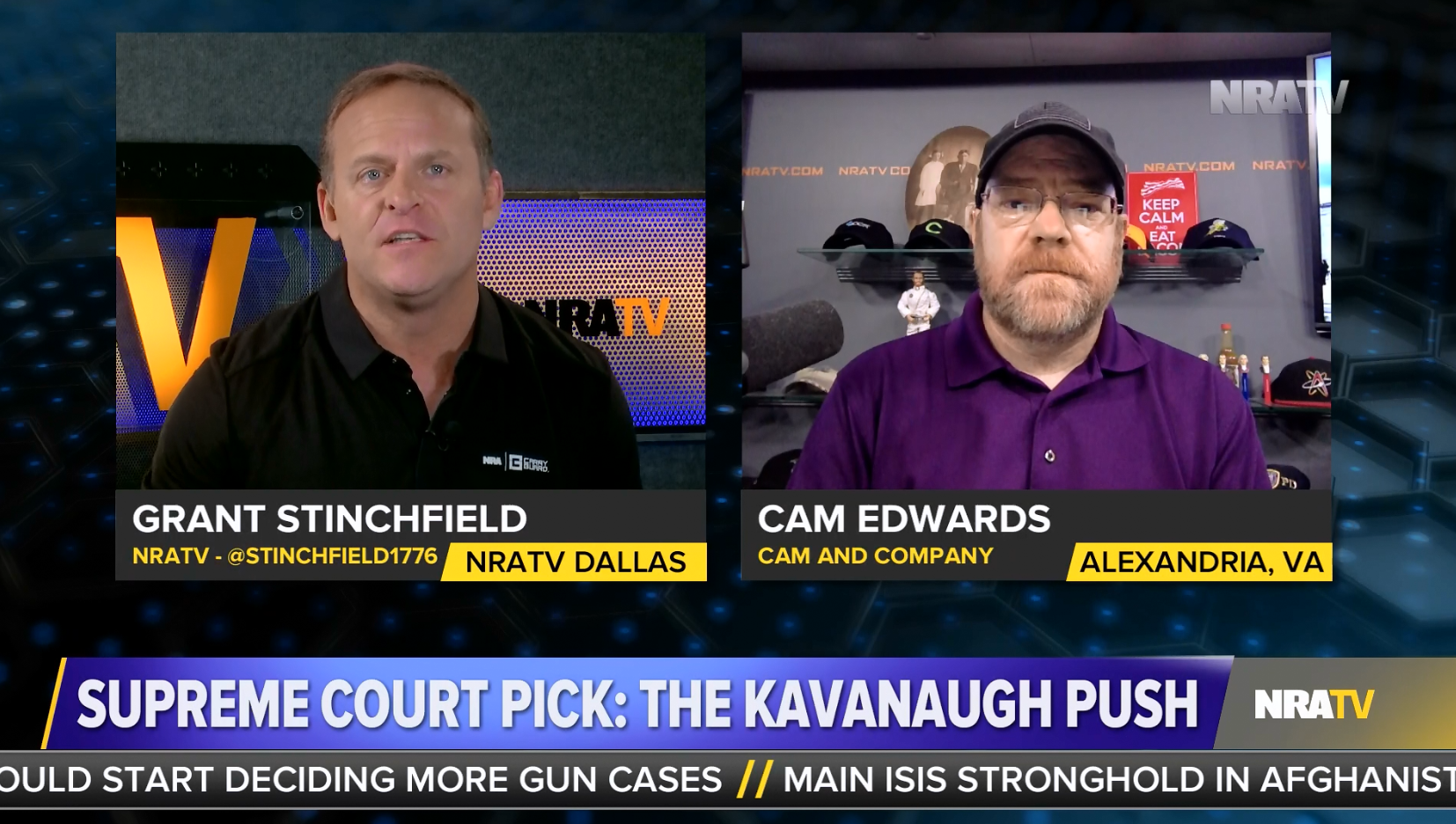 NRATV celebrates Brett Kavanaugh's radical view that bans on assault weapons are unconstitutional