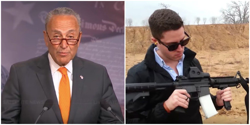 Americans Will Be Able to Create 3D-Printed Guns in August — But Not if Chuck Schumer Can Help It