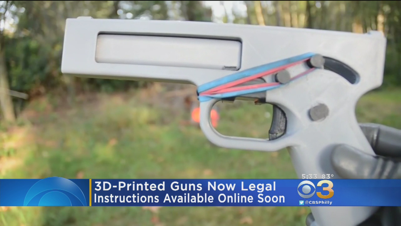 New Jersey Attorney General Sends 'Cease And Desist' Letter To Halt Company's Publication Of 3D-Printed Gun Instructions