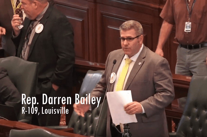 Rep. Bailey Defends 2nd Amendment; Opposes Treating 2.4 Million Gun Owners as Criminals in Illinois