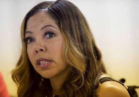 McBath Calls for 'Gun-Free Society'