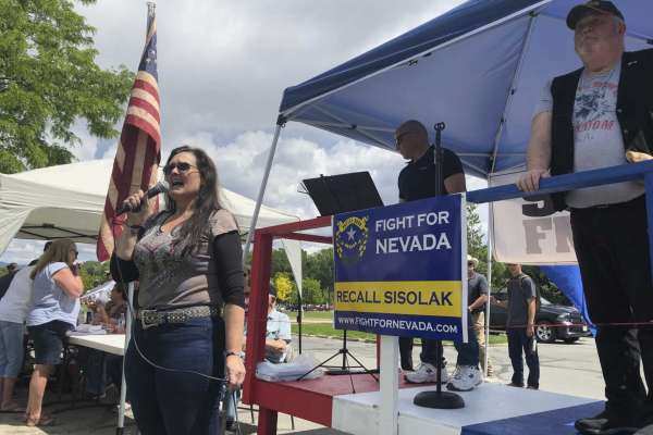 Conservative group forms committee to recall Nevada governor