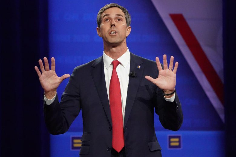 Beto O'Rourke Is Turning Into a Human Straw Man for Conservatives
