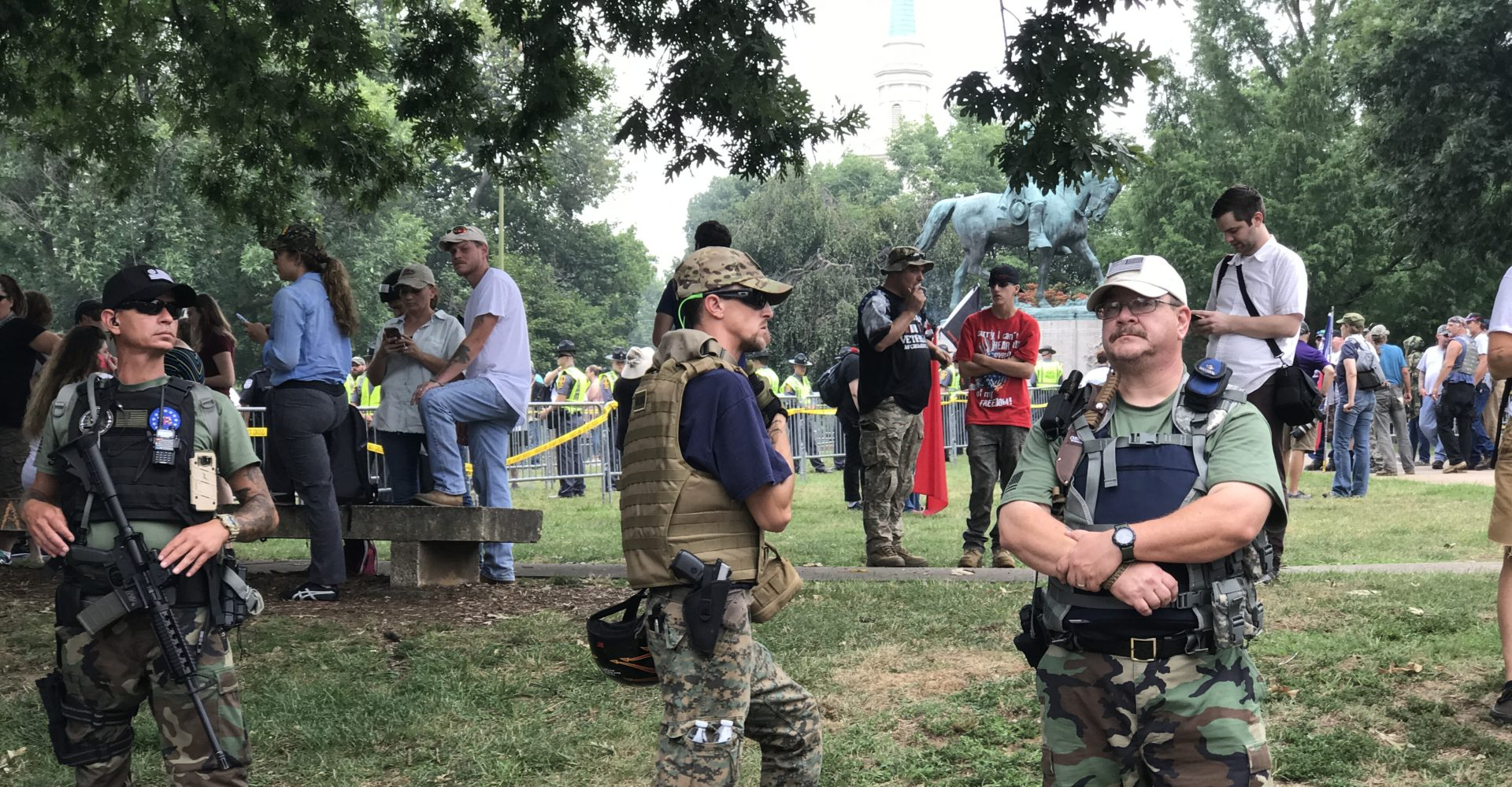 Daily Bulletin: Militia Members Joined Another Protest of State Gun Bills