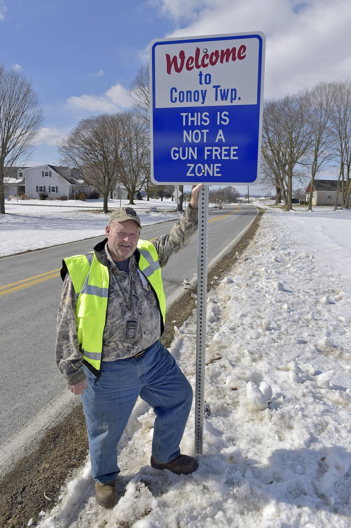 Conoy Township supervisors want to become '2nd Amendment sanctuary city'