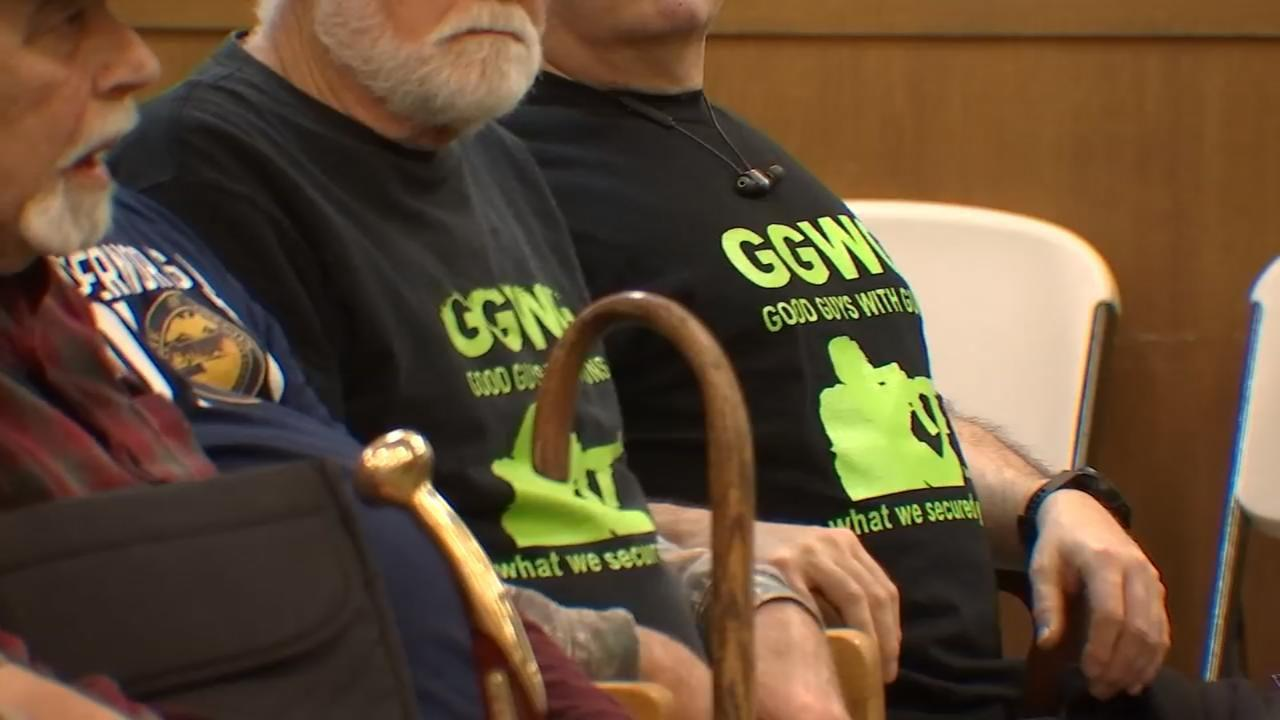 Proponents, opponents pack hearing room for Oregon gun safety bill
