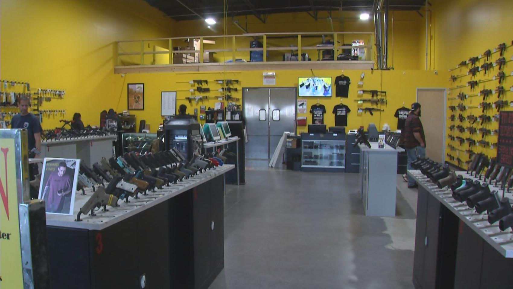 Phoenix gun store owner says proposed assault weapon ban has boosted sales