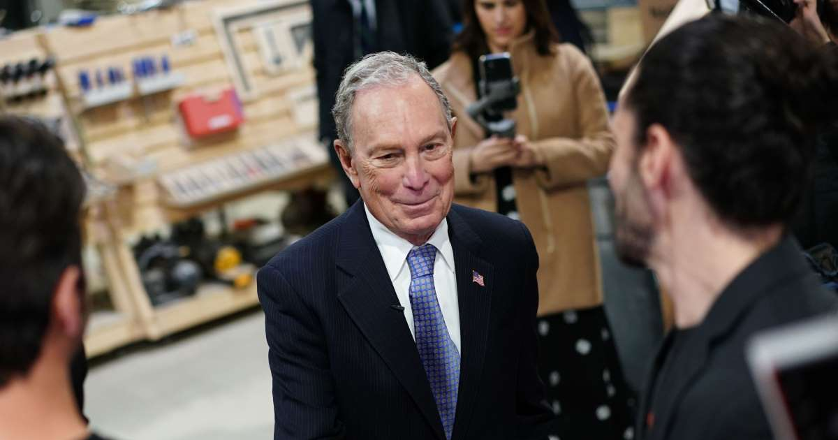 Michael Bloomberg Isn't Running In New Hampshire, But He's In Everyone's Head