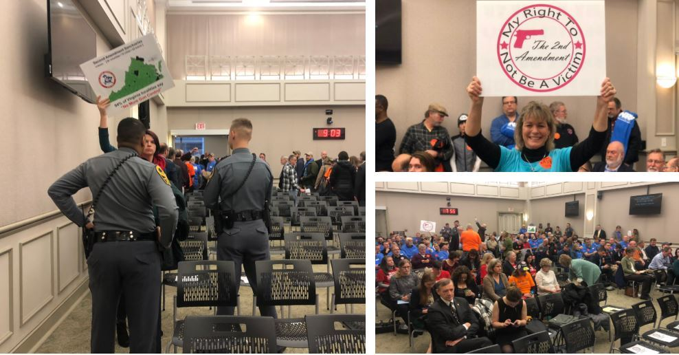 Assault weapons ban clears committee; crowd ordered out by police