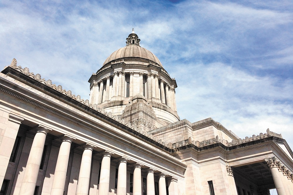 Gun-toting Shea supporters prompt Democratic proposal to restrict guns in Washington state Capitol