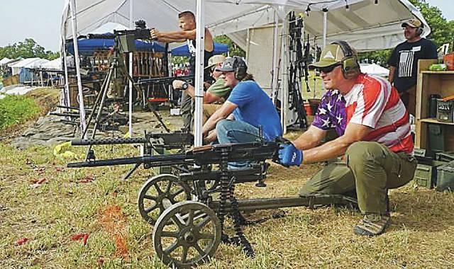 Event offers chance to fire unusual weapons, blow stuff up
