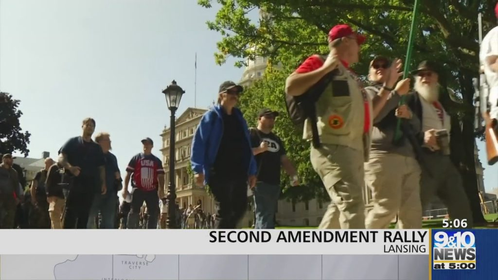 Second Amendment Supporters Rally at State Capitol