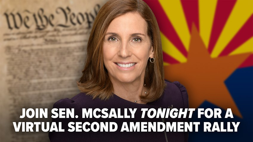 URGENT: Tune in to 2nd Amendment Virtual Rally Tonight with Sen. Martha McSally!