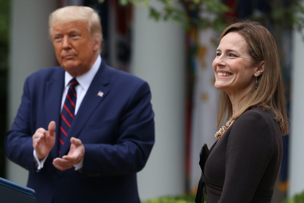 Amy Coney Barrett Wants Felons to Have Guns, but Not Votes