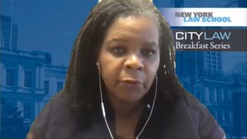 COMPLETED VIDEO: 169th CityLaw Breakfast with Annette Gordon-Reed, Carl M. Loeb University Professor at Harvard Law School