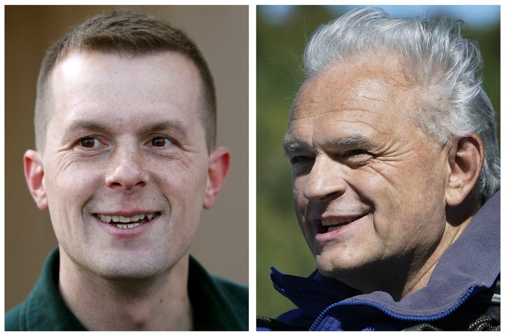 Old votes on guns, taxes dominate 2nd debate between Jared Golden, Dale Crafts
