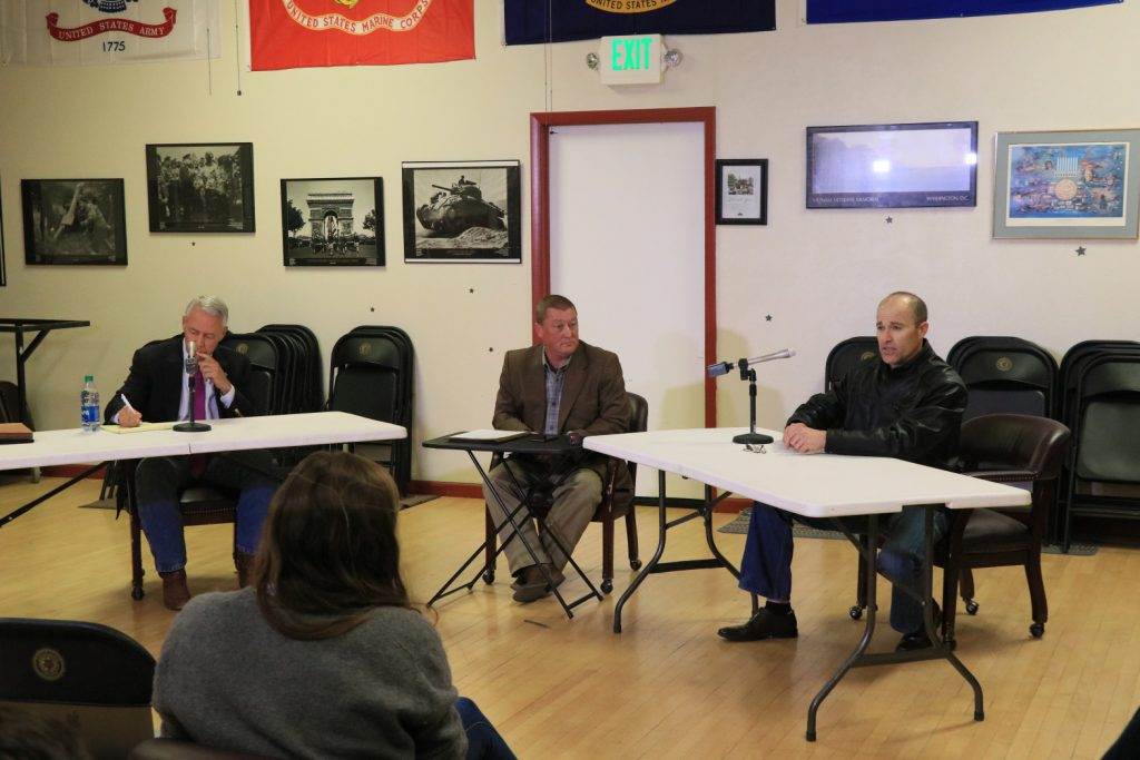 Debate between Congressional District 4 candidates ends contentiously
