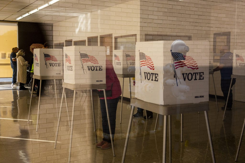 PRE-ELECTION ADVISORY: BAN GUNS AT AND NEAR POLLING PLACES