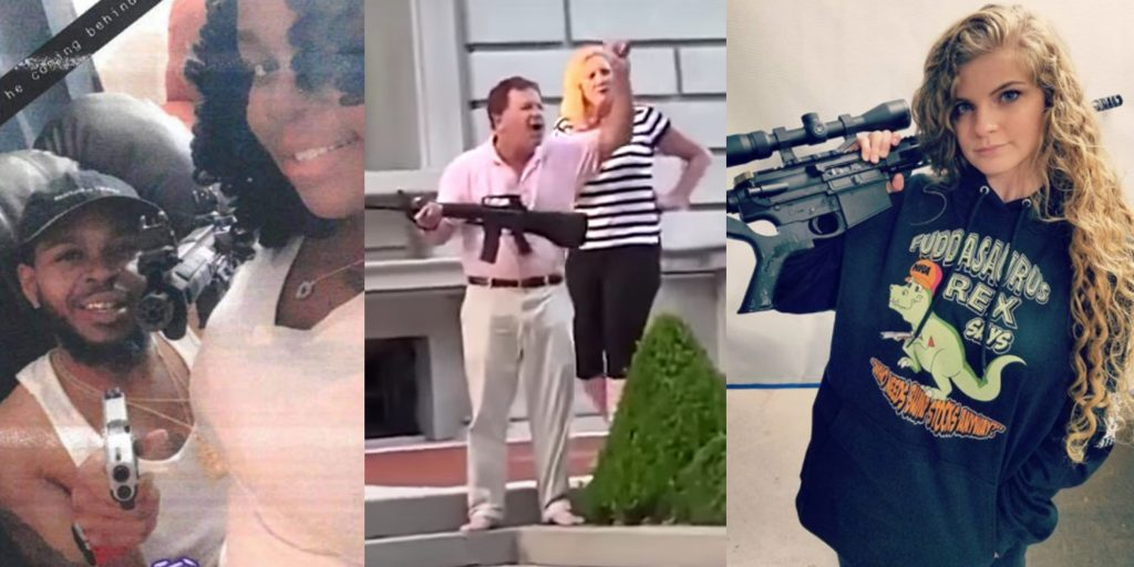 'Second Amendment only applies to white people': People point out double standard following Breonna Taylor gun photo