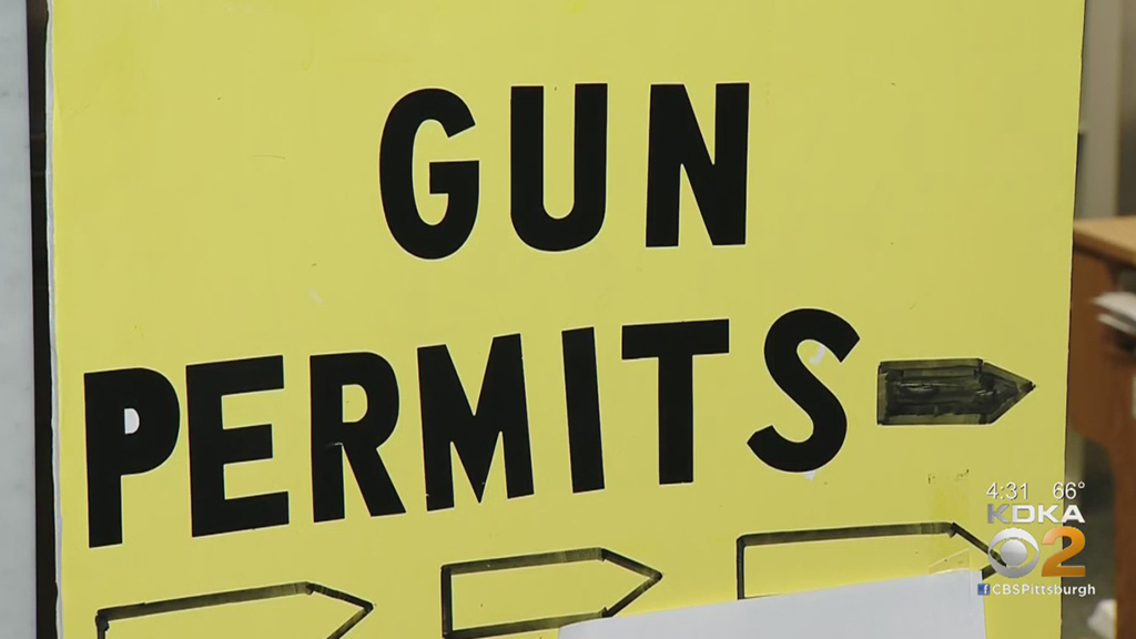 Allegheny County Temporarily Opening Concealed Weapon Permits To Gun Owners Without Appointments