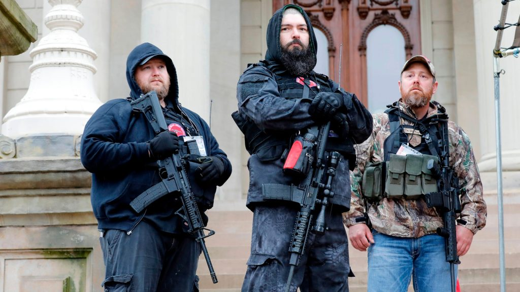 All states prohibit 'militia extremists' and paramilitary activities. So why aren't they stopped?